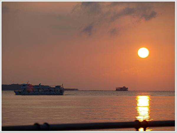 淡水夕陽-2