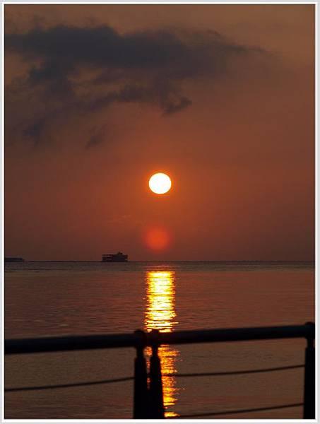 淡水夕陽-3