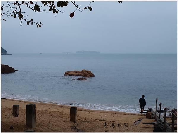 香港赤柱海邊