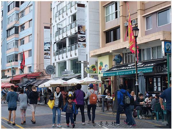香港赤柱大街上