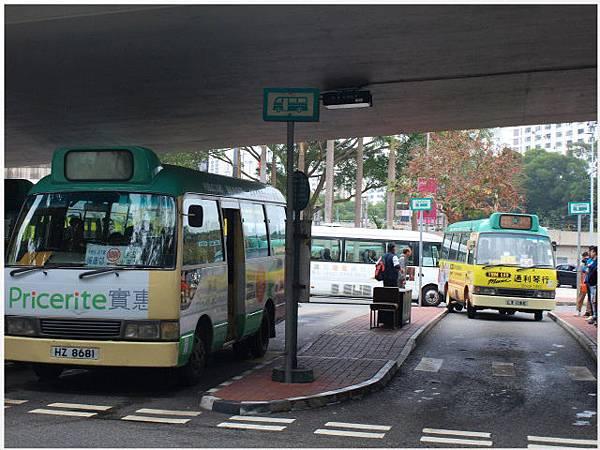 香港沙田公車站