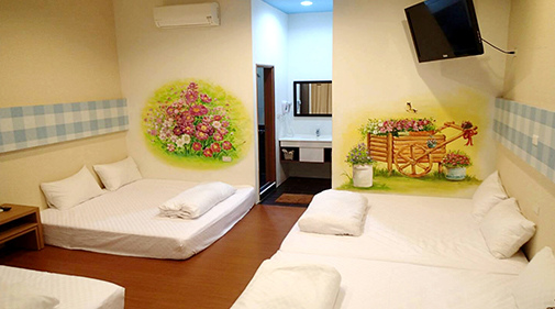 小琉球花宿假期房間