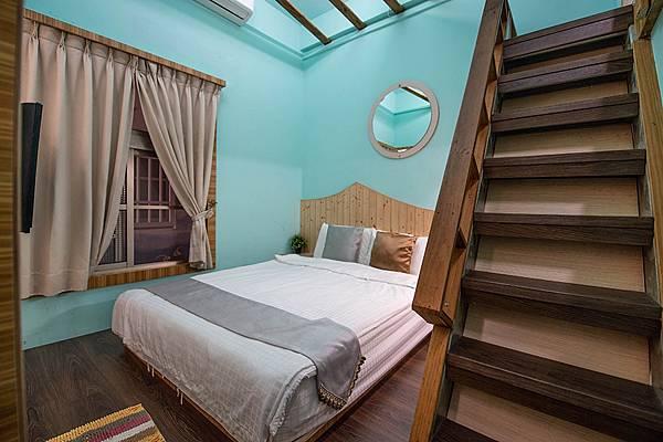 小琉球天藍海民宿房間