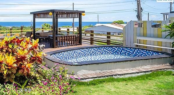 小琉球天藍海民宿景觀