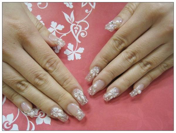 水晶指甲1