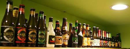 各式比利時啤酒