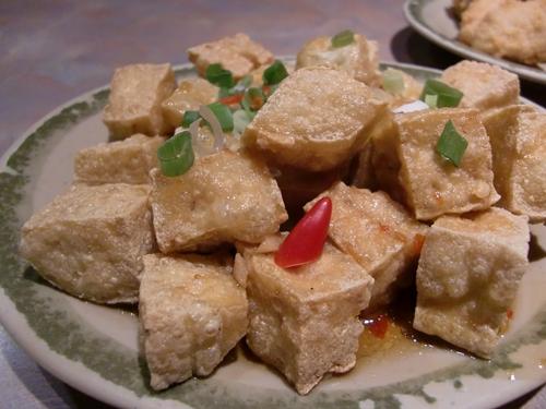 雅舍的炸豆腐