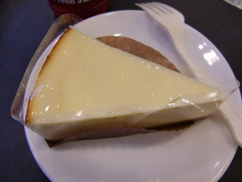 星巴克的起司蛋糕ww