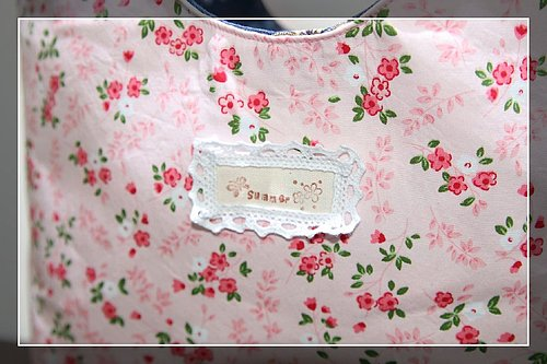 粉紅肩背帶