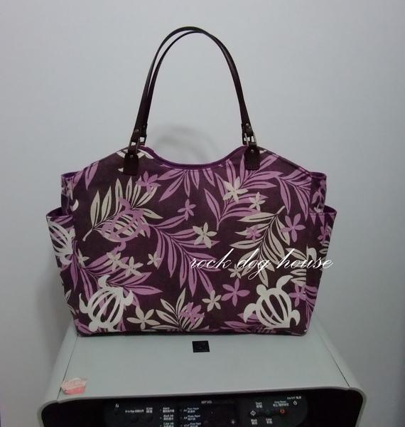 時尚肩背包~夏威夷紫正面.jpg