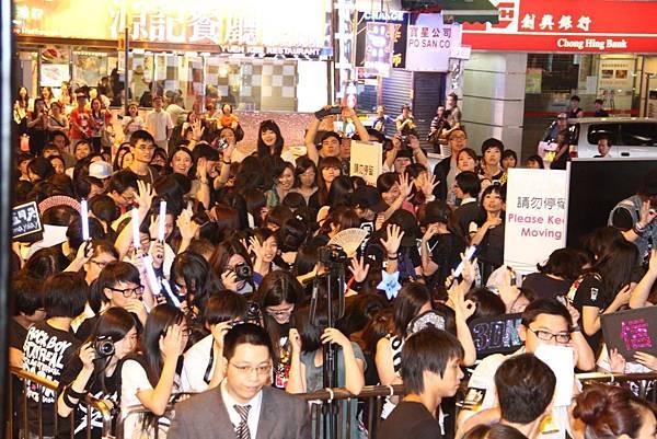 9/11 香港首映會盛況