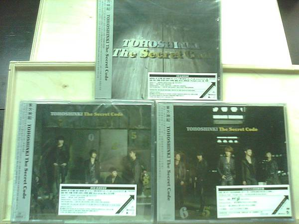 THE SECRET CODE CD only,2CD, 2CD+DVD ver.jpg