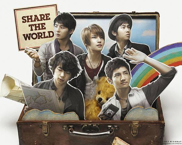 日單曲 27th Single - Share The World  ウィーアー! 20090422.jpg