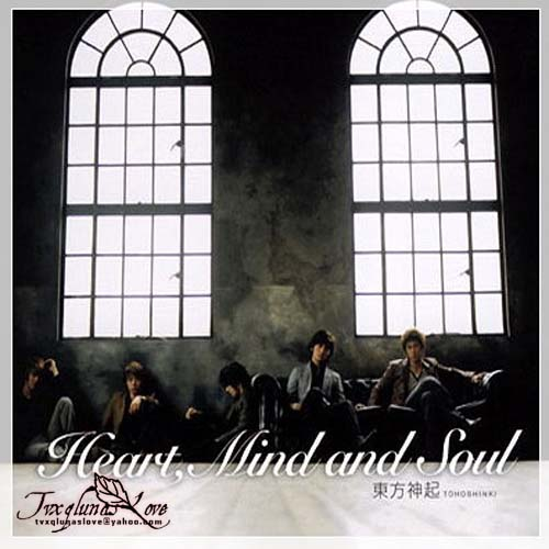 日第一張專辑 Heart, Mind And Soul' (2006.03.23) ORICON 8名.jpg