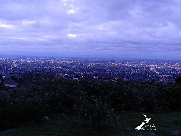 Christchurch看夜景