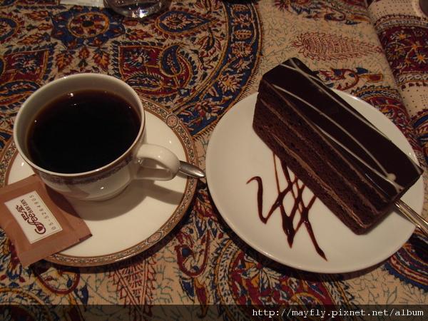 咖啡+蛋糕