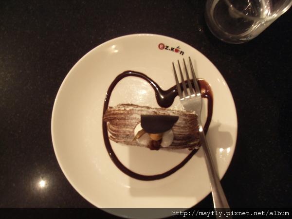 蛋糕也是愛心的~