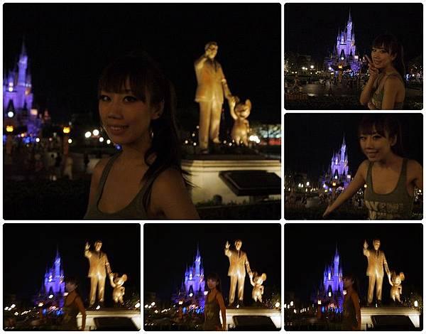 Disney Land-城堡夜拍(may2).jpg