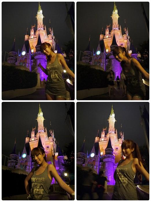 Disney Land-城堡夜拍(MAY).jpg