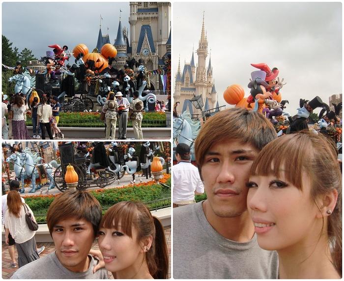 Disney Land-廣場馬車(MAY&ㄚ皓).jpg