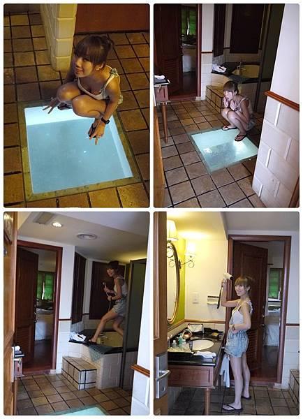禮晶渡假村水上屋-浴室.jpg