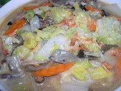 魚皮炒白菜