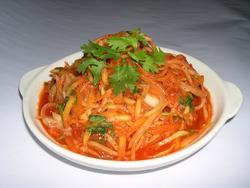 韓式辣味青木瓜