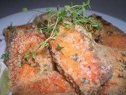檸檬百里香鮭魚