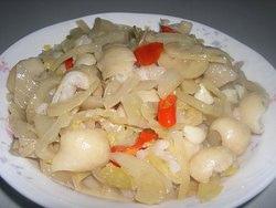 酸菜炒大腸