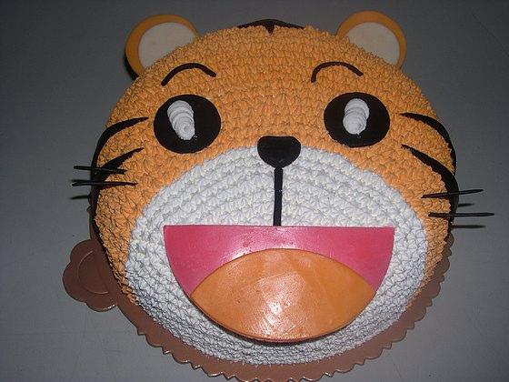 可愛巧虎蛋糕