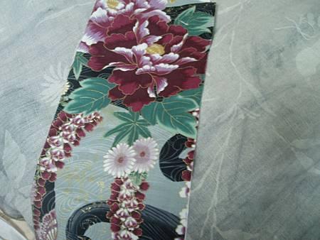 秋牡丹+紫草染