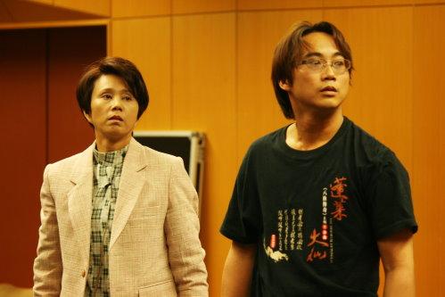 孫翠鳳飾演的弟弟秩男與哥哥正男同時愛上美麗的綾子