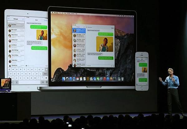 WWDC/蘋果iOS 8亮相 最大一次改版秋天上線