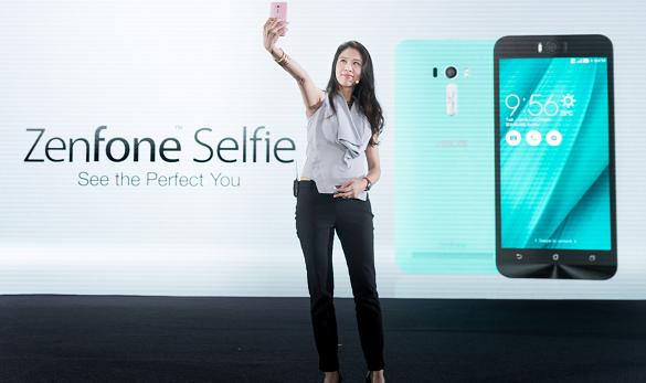 nEO_IMG_ZenFone Selfie是華碩專為愛好自拍者量身打造的全新智慧型手機,前後各配備1300 萬畫素的PixelMaster相機,使用者可隨心所...