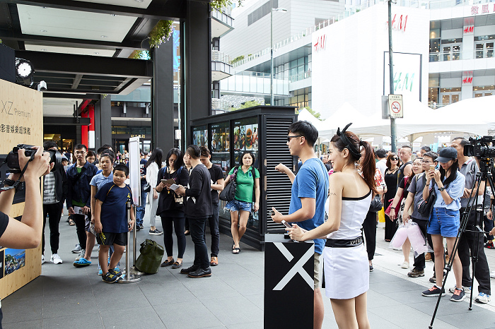 nEO_IMG_高溫不減民眾與Sony Mobile代言人周杰倫互動的心,現場出現大量體驗人潮(1).jpg