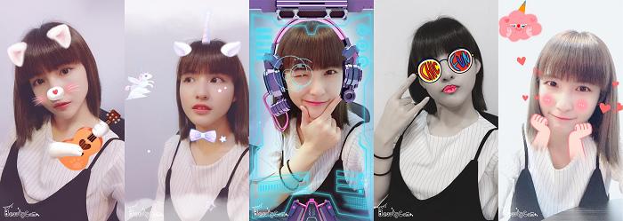 【圖說1】《美顏相機》推出AR遊樂園,共有58款特效、14款濾鏡,同時也能自定義美膚、瘦臉、收下巴、放大眼等效果。.jpg