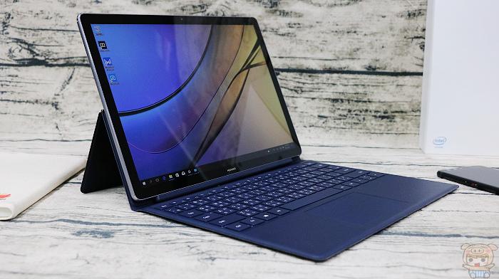 輕薄可攜,新一代二合一筆電 HUAWEI MateBook E 開箱 - 11