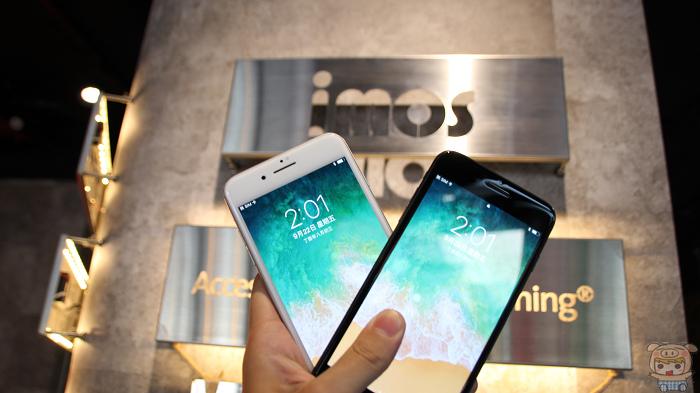 專為 iPhone 8 打造,imos SOLID-EX-9H 保護貼體驗分享