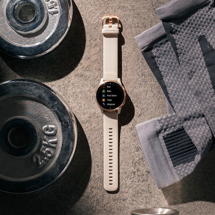 nEO_IMG_Garmin Venu AMOLED GPS智慧腕錶主動式生理數據監測搭配運動分析及建議,幫助使用者檢視自己的健康狀態及運動成效,建議售價NT$13,900元。-2.jpg