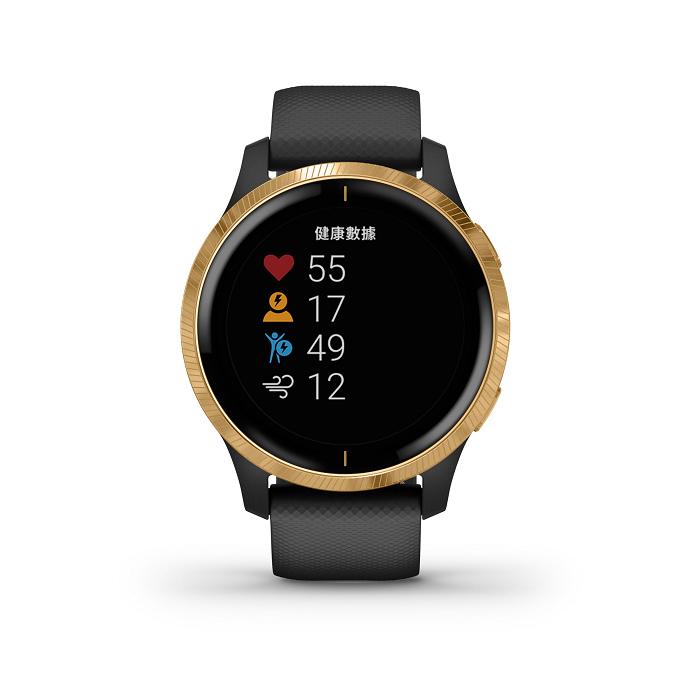 nEO_IMG_Garmin Venu AMOLED GPS智慧腕錶主動式生理數據監測搭配運動分析及建議,幫助使用者檢視自己的健康狀態及運動成效,建議售價NT$13,900元。-3.jpg