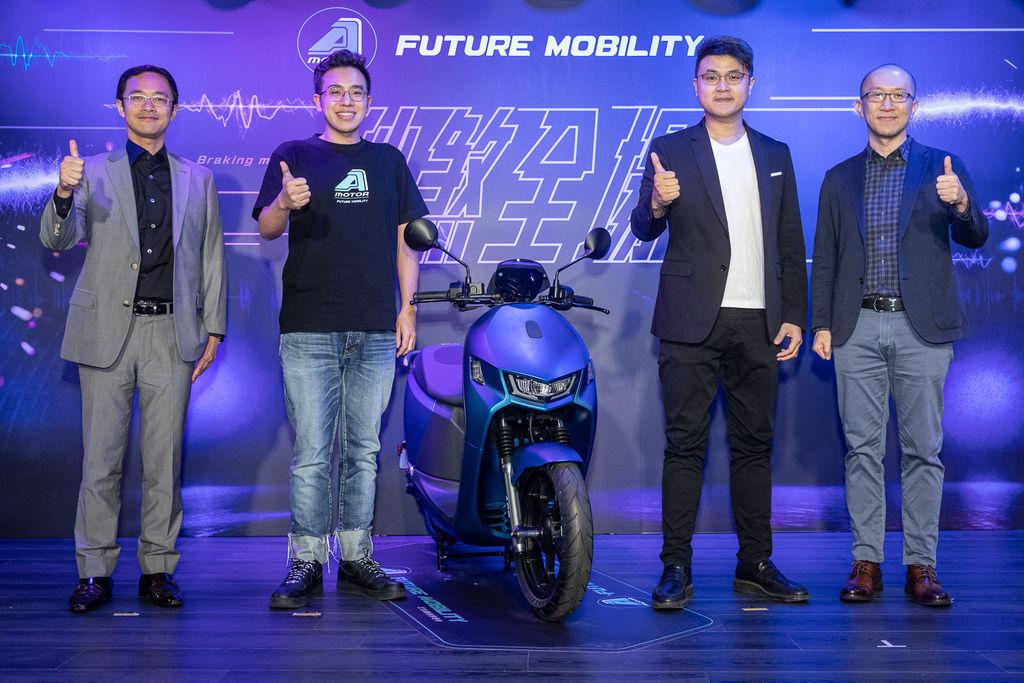 圖說、宏佳騰智慧電車推出全新Ai-1 Sport ABS車系,兼具強悍性能跑格,秒煞全場 (2).jpg