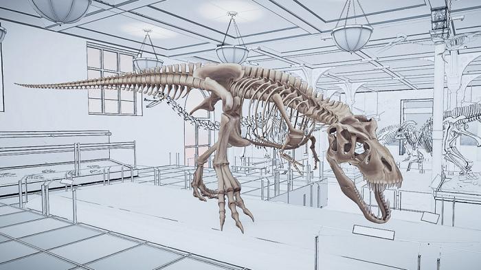nEO_IMG_HTC新聞圖檔(HTC與美國自然歷史博物館合作的《雷克斯暴龍VR體驗》,栩栩如生的恐龍出現眼前,讓身在台北晶華的旅客也可以有如親臨紐約造訪博物館).jpg