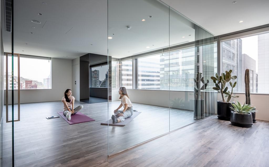 LINE新辦公室設置了冥想休息室,讓員工工作之餘也可放鬆身心-1.jpg