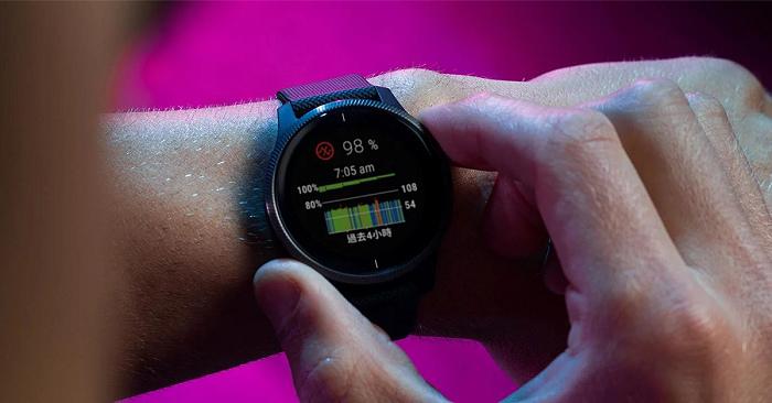 nEO_IMG_Garmin血氧感測使用業界最受信賴的「Pulse Ox血氧感測技術」搭配Garmin精細的演算法,估算使用者當下血氧濃度.jpg