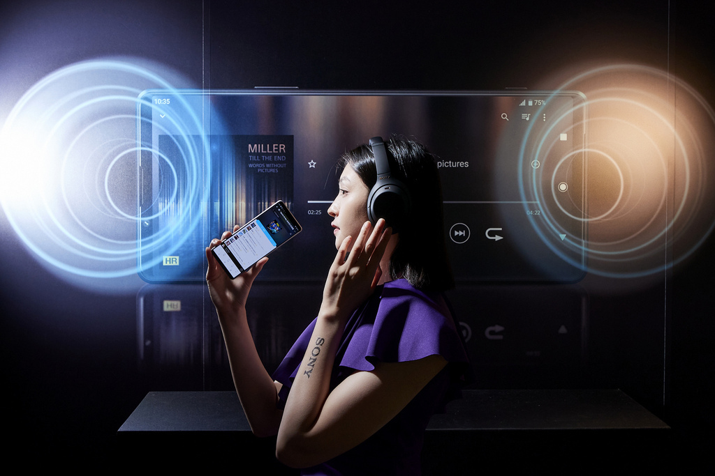 Xperia 1 III進階劇院級環繞立體聲喇叭,茵量提升40_;360空間模擬音效,將立體聲提升為環繞聽覺與沉浸體驗.jpg