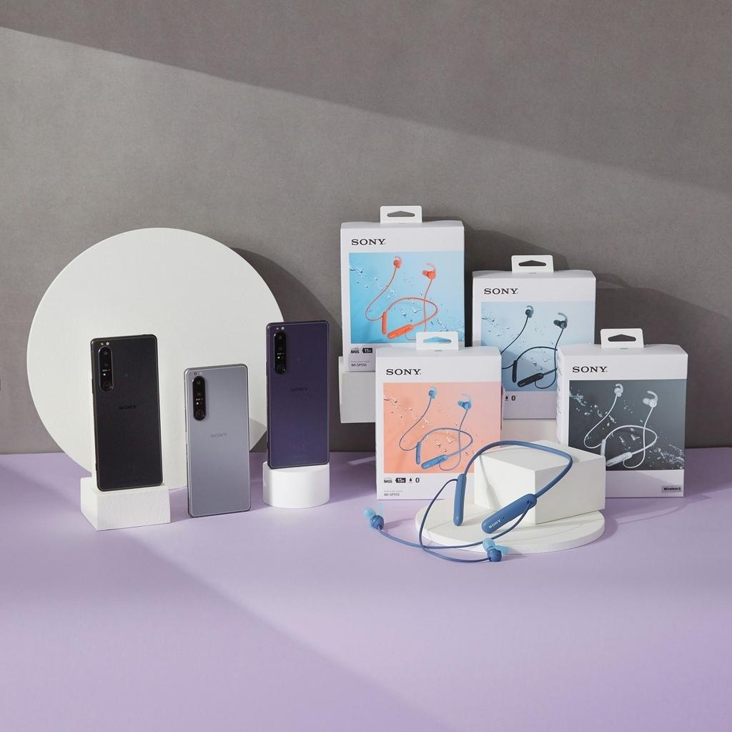 圖說二、10月31日前至Sony Mobile行動通訊專賣店選購Xperia 1 III,上網完成登錄送Sony運動藍牙入耳式耳機WI-SP51.jpg