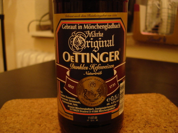 20080206 Oettinger Dunkles Hefeweizen