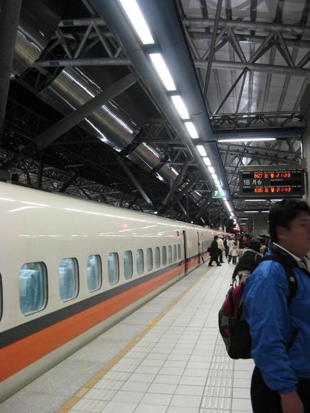台中站月台