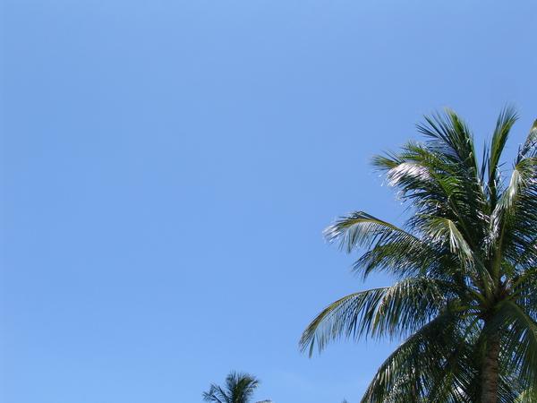巴里島晴朗天空