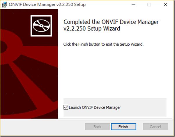 安裝ONVIF Device Manager @ 天天向上:: 痞客邦::